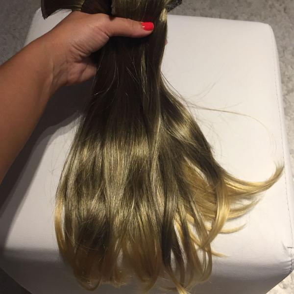 Mega hair com tic tac fizpan