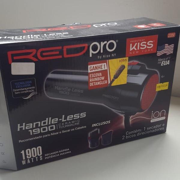 Secador cabelo red pro handle - less 1900