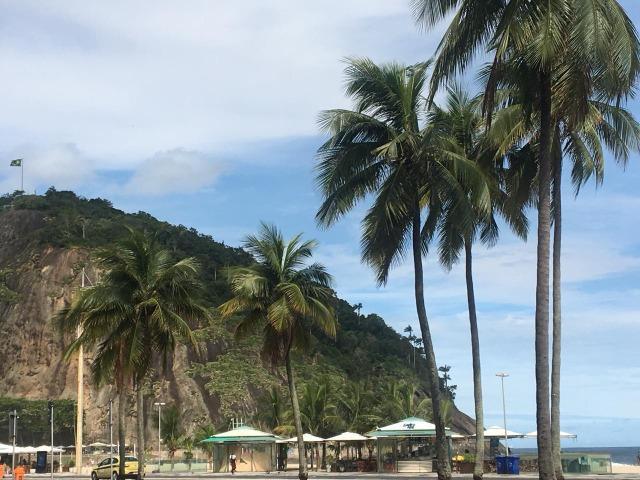 Copacabana quarto e sala vista mar 200,00 diária