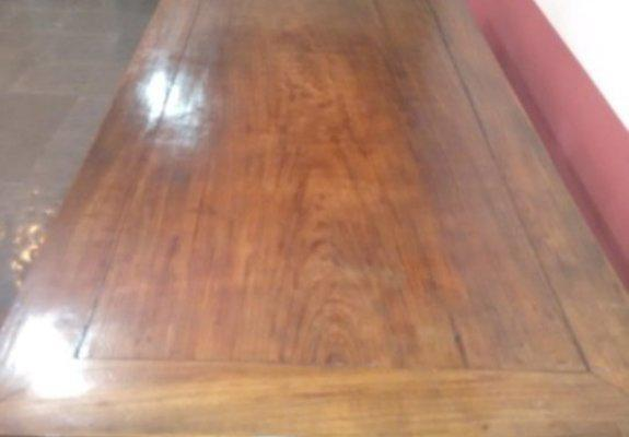 Mesa 12 lugares madeira nobre maciça. imperdível!