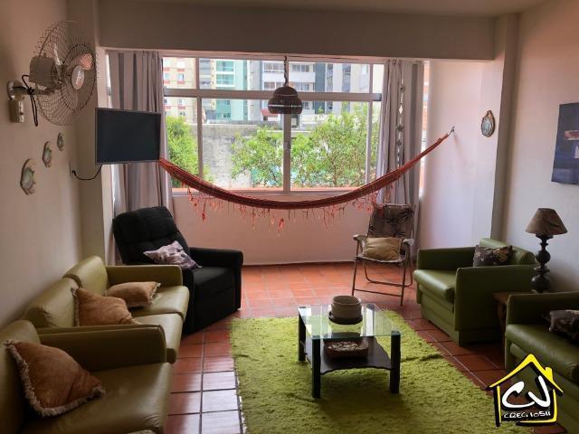 Reveillon 2021 - apartamento c/ 3 quartos (1 c/ ar) - praia