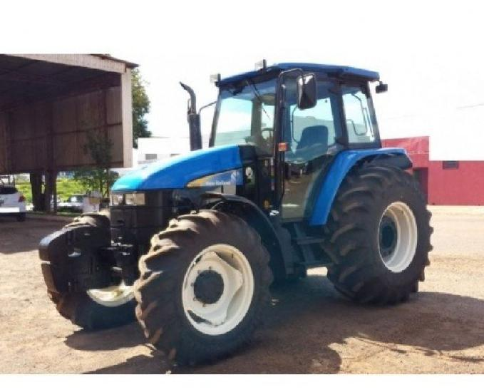 Trator New Holland TS 6020 - (Entr + Parc)