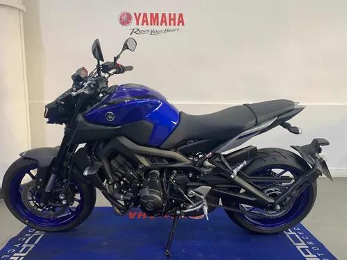 Yamaha mt 09 abs azul 2020