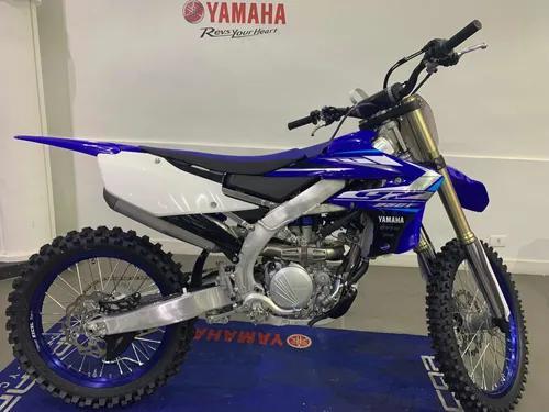 Yamaha yz 250f azul 2020