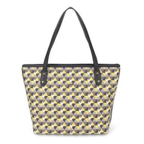 Bolsa feminina mickey tote bag amarela . original e nova