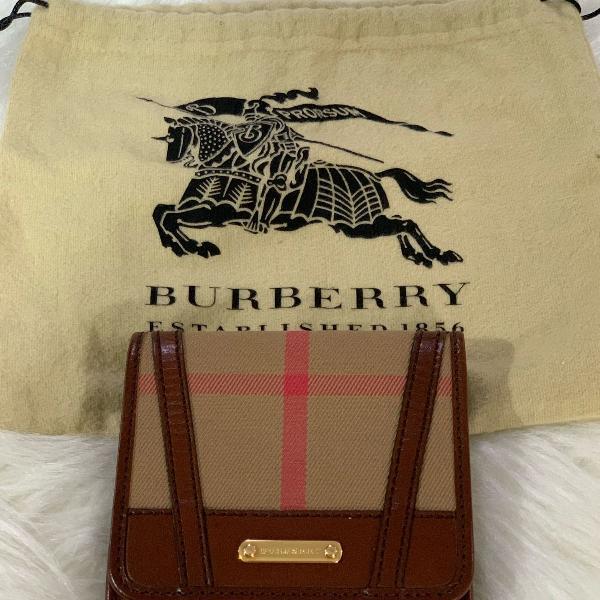 Carteira burberry original