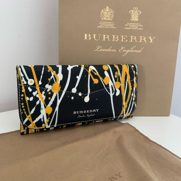 Carteira burberry splash hoxton