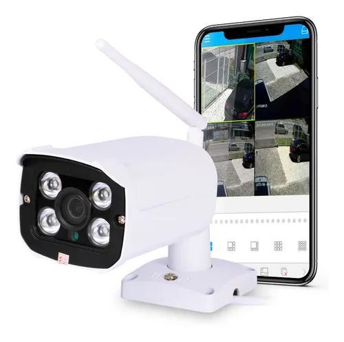 Camera ip segurança visão noturna aprova dágua grava