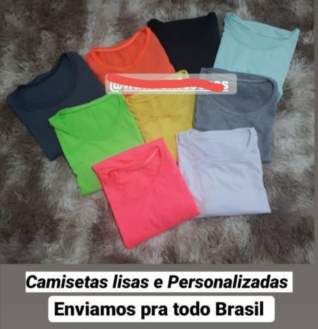 Camisetas lisas ou personalziadas