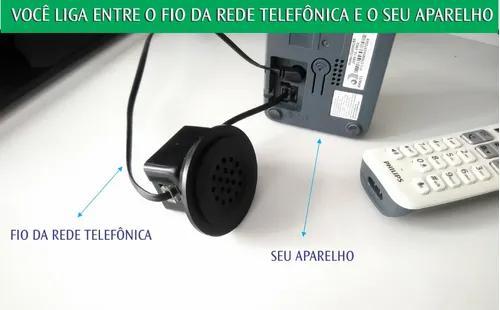 Campainha 12v - auxiliar de telefone