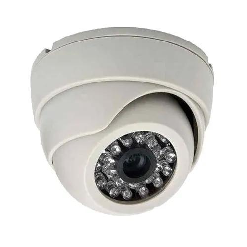 Câmera 24 leds infravermelho dome hd 720p 1.0 megapixel