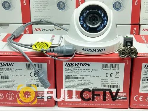 Câmera dome hikvision flex 4x1 720p 1mega lente