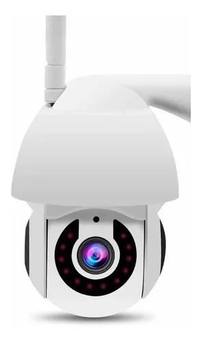 Câmera ip externa wifi dome infra prova d'água v380 hd
