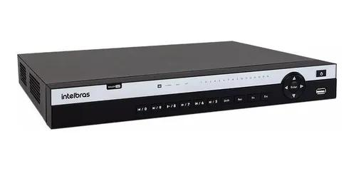 Dvr 16 canais intelbras mhdx 5216 4k ultra hd