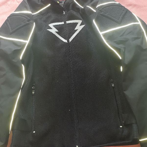 Jaqueta para moto feminina semi nova tam m serve g
