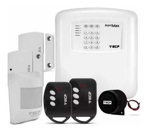 Kit alarme residencial e comercial kit alard max 4 key