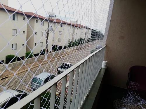 Kit rede tela de proteção janelas (1,20 x 1,20)