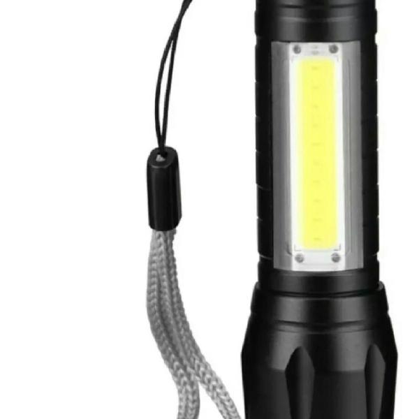 Lanterna Tática Led Recarregável Mini Usb
