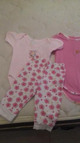 Lote roupas bebê até 1 ano