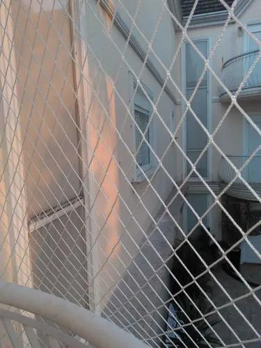 Rede tela de proteção janelas sacadas com corda até 10