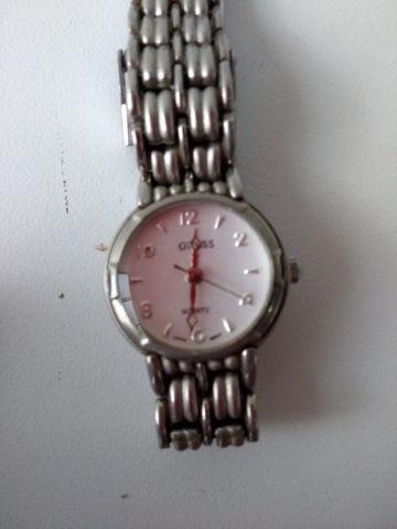 Relógio, marca guess, quartz, 2035, lk268, japan. pulseira