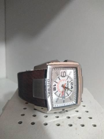 Relogio diesel pulseira couro