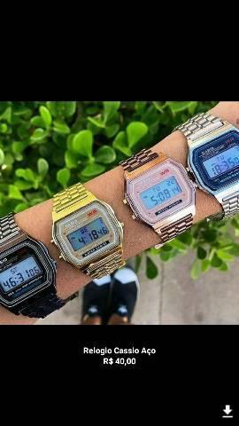 Vários modelos de relógios lindos para você, digitais a