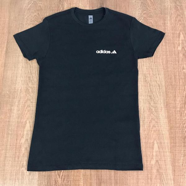 Adidas camiseta masculina lisa com logo