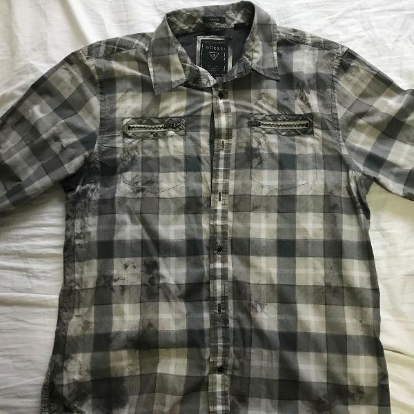Camisa masculina guess tamanho m marca guess