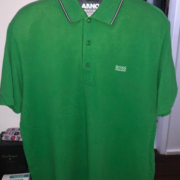 Camisa polo hugo boss xxl verde