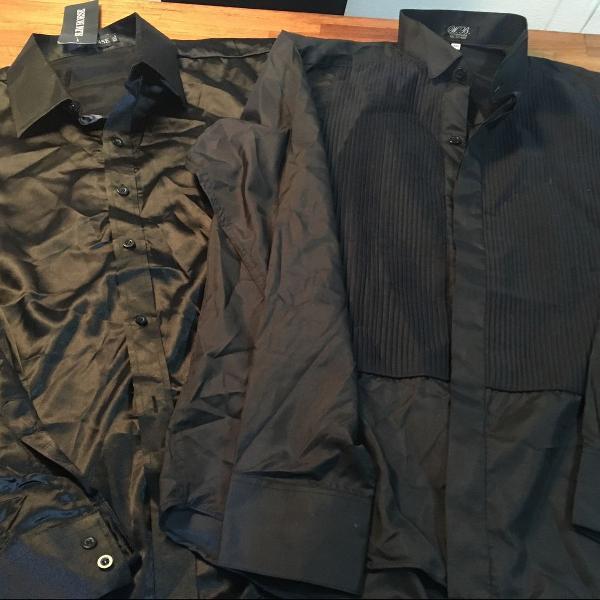 Camisa preta kit