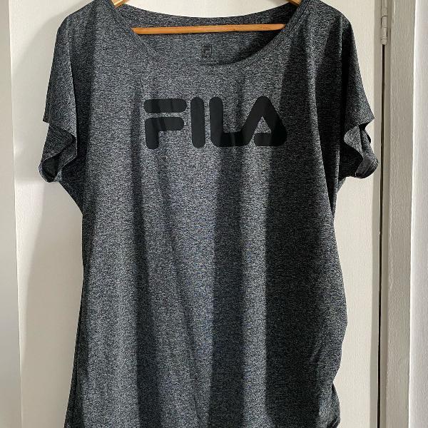 Camiseta dry fit fila
