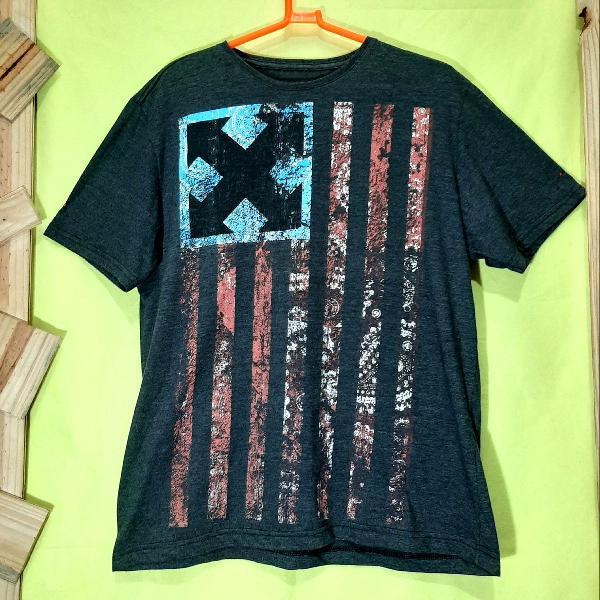 Camiseta gang slim fit