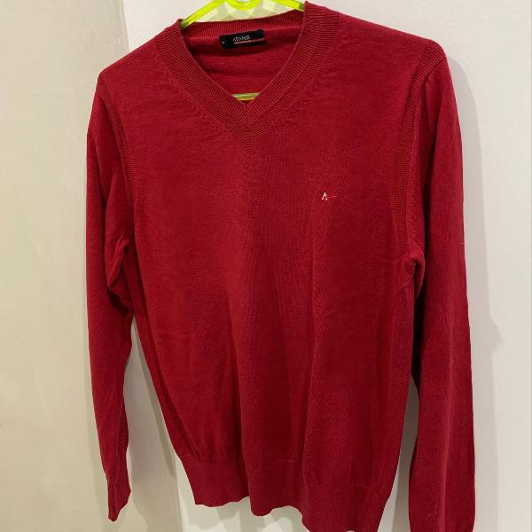 Imperdível: suéter / blusa manga longa decote v aramis