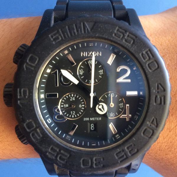 Relógio nixon the rubber 42-20