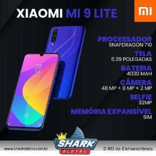 Celular Xiaomi Mi 9 Lite 128Gb Preto