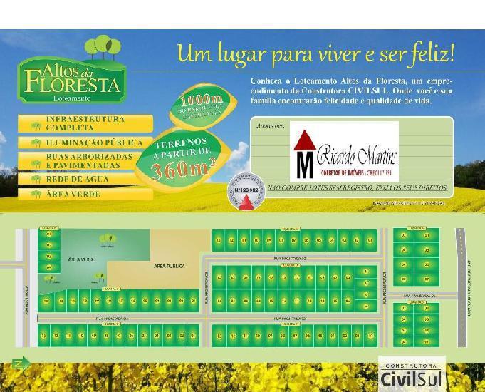 Loteamento Altos da Floresta Criciúma
