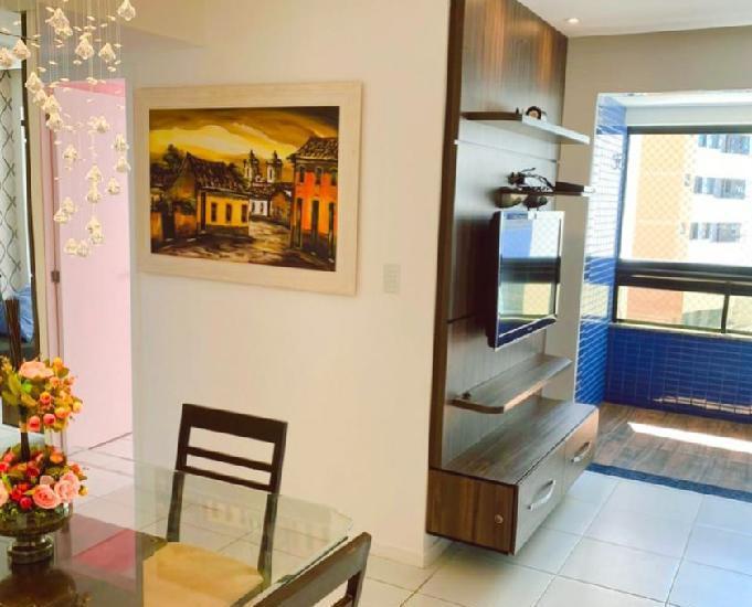 Apartamento mobiliado no soberano jardins para locação