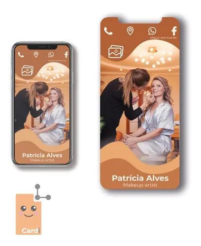 Cartão interativo digital cardi