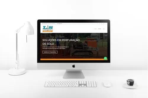 Criação de site profissional - site configurado para