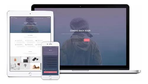 Criação de site totalmente responsivo