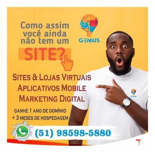 Criação de sites e aplicativos | marketing digital