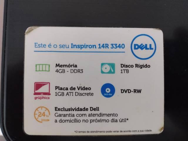 Dell inspiron 14r 3340 (aceito troca)