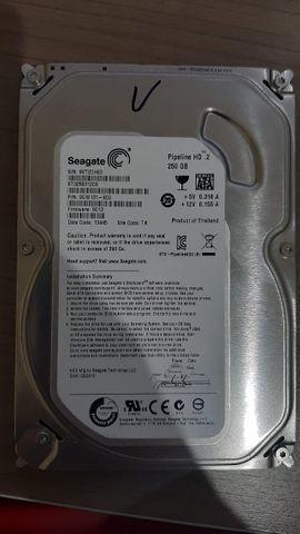 Hd de computador seagate 250gb sata