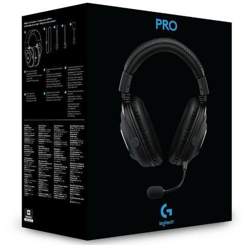 Headset logitech gamer pro - loja fgtec informática