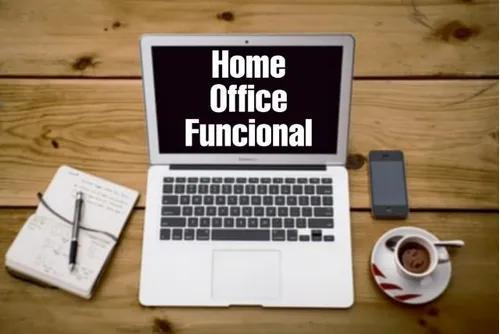 Home office funcional / digitação e preenchimento