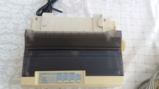 Impressora matricial - epson lx 300 + ii - usado