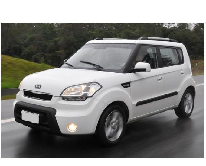 Kia soul 1.6L EX Top de linha 2011 Automática - Ac trocas