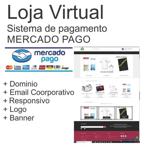 Loja virtual, sites e serviços gráficos