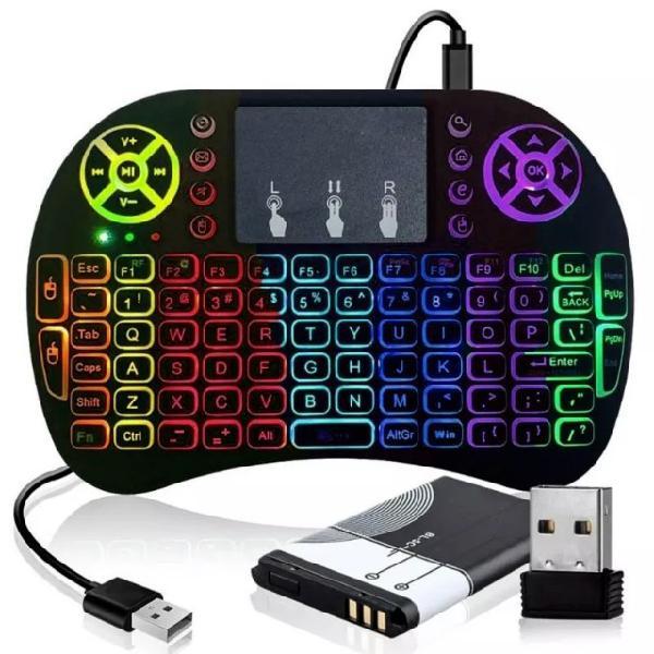 Mini teclado sem fio wireless pc tv smart not xbox ps3,4 -